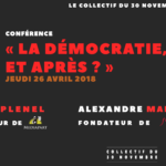 26 avril – Conférence-débat avec Edwy Plenel