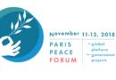 11 au 13 novembre 2018 : Synopia participe au Paris Peace Forum !