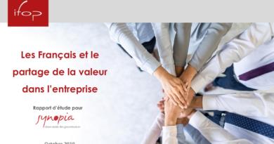 Les Français et le partage de la valeur dans l'entreprise – Sondage Ifop pour Synopia