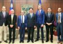 «Des chercheurs français en visite d'étude à Taiwan», Alexandre Malafaye fait partie d'une délégation française