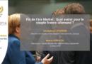 14 mai 2021 – Conférence sur l'avenir du couple franco-allemand, en partenariat avec l'Institut EGA