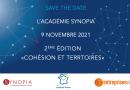 9 septembre 2021 – Signature de la convention de mécénat pour la 2ème édition de l'Académie Synopia avec Entreprises et Cités !